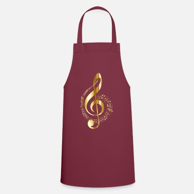 Music musical note - Apron