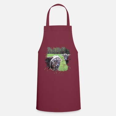 Cattle The Tyrol Gray Cattle is an old of cattle - Cooking Apron