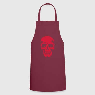 skull pirate death heavy metal - Delantal de cocina