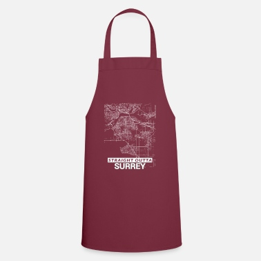 Surrey Straight Outta Surrey city map and streets - Apron