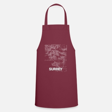 Surrey Surrey city map and streets - Apron