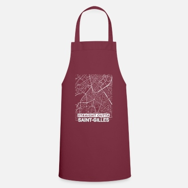 Streets Straight Outta Saint-Gilles city map and streets - Apron