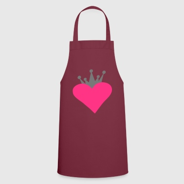 Romantic heart - Cooking Apron