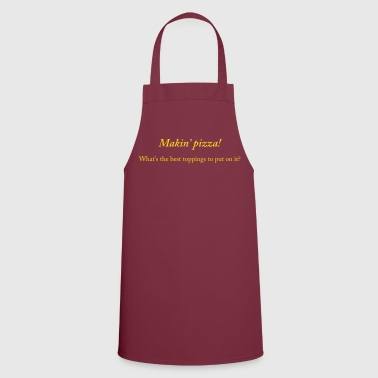 Making pizza - Cooking Apron