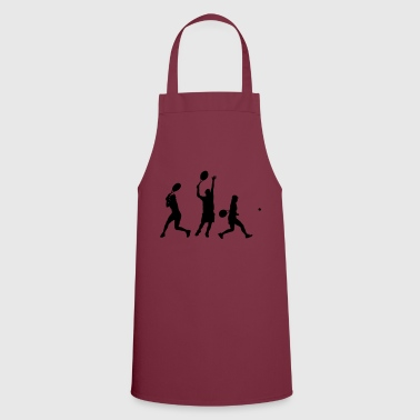 Tennis in action - Cooking Apron