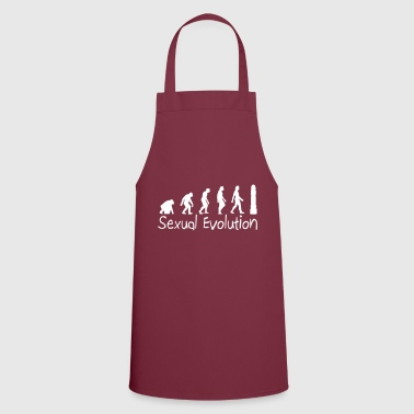Sexual Evolution From Ape To Erect Man. - Cooking Apron