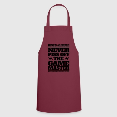Never piss off the GM - Cooking Apron