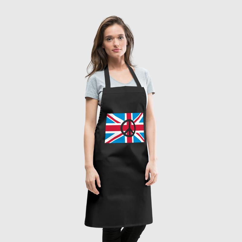 Peace Sign Union Jack, Union Jack - Cooking Apron