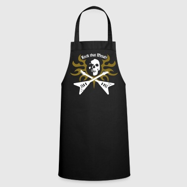 rock_that_metal - Delantal de cocina