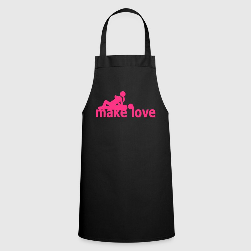 quote sex make love couple love position - Cooking Apron