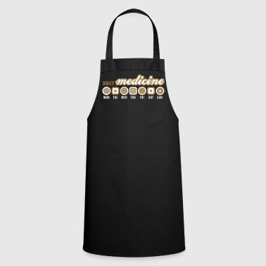 Daily medicine of chocolate - Cooking Apron