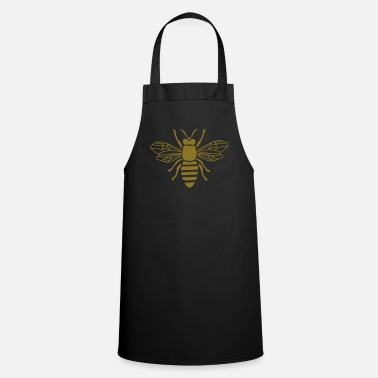 Bumble Bee bee honey bumble bee honeycomb beekeeper wasp sting busy insect wings wildlife animal - Cooking Apron