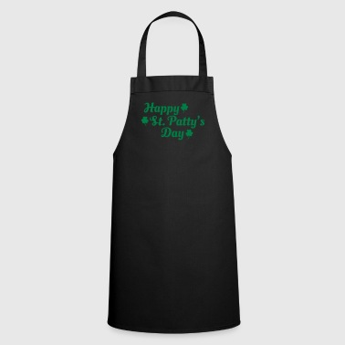 happy st patty's day - Cooking Apron