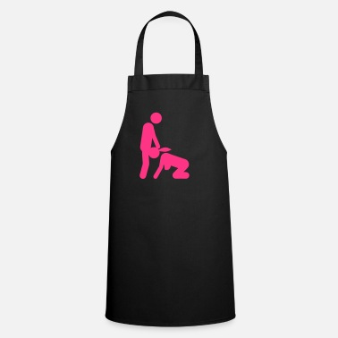 Blow Job sex love couple blow job icon kama_2) - Cooking Apron