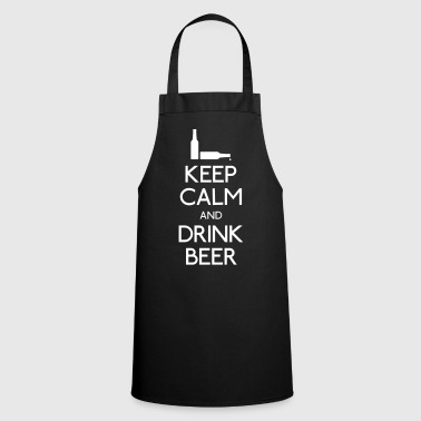 Keep Calm Drink Beer - Keukenschort