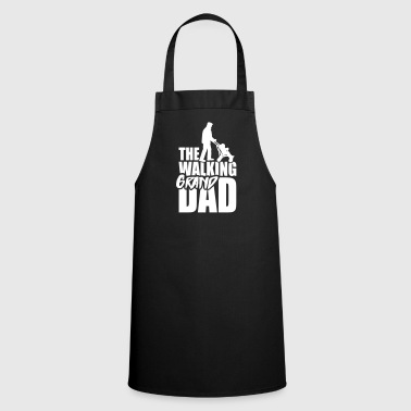 The walking (grand) dad - grandad 1 clr - Cooking Apron