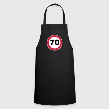 70th Birthday - Cooking Apron