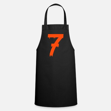 Lucky Number lucky number seven - Apron