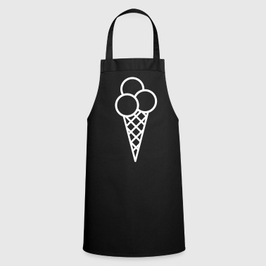 ice cream - Cooking Apron