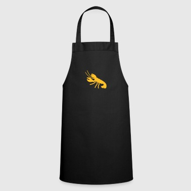 a lobster crayfish marine animal in the ocean  - Cooking Apron