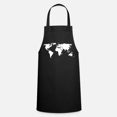 World Map world map - Cooking Apron