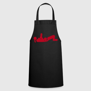 Sex icon position love 1502 - Cooking Apron