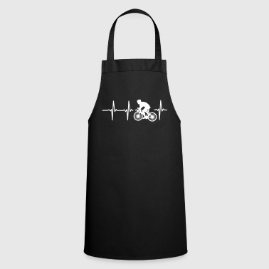 MY HEART BEATS FOR CYCLING! - Cooking Apron