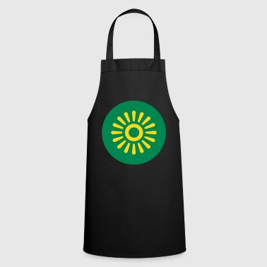flower sun - Cooking Apron