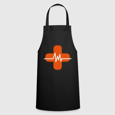 Hospital Hospital heartbeat - Cooking Apron