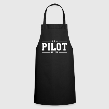 Pilot is life - Fartuch kuchenny