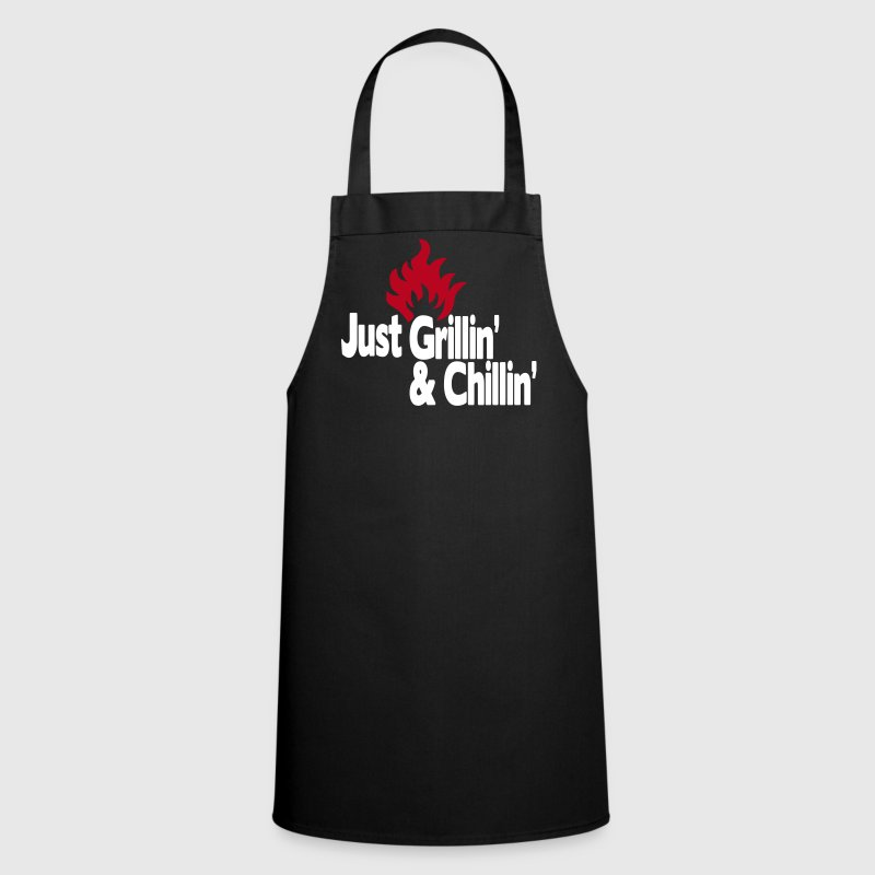 just grillin' and chillin' / just grilling and chilling 2c - Cooking Apron