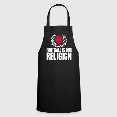 FOOTBALL IS RELIGION - Cooking Apron