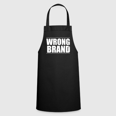 Brand Wrong Brand: the ultimate brand parody - Cooking Apron