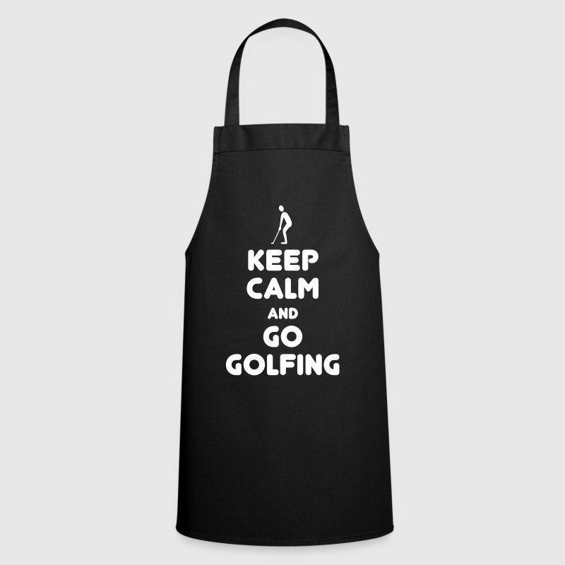 Keep calm golfing - Cooking Apron