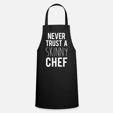 Pensionering A Skinny Chef Funny Quote - Keukenschort
