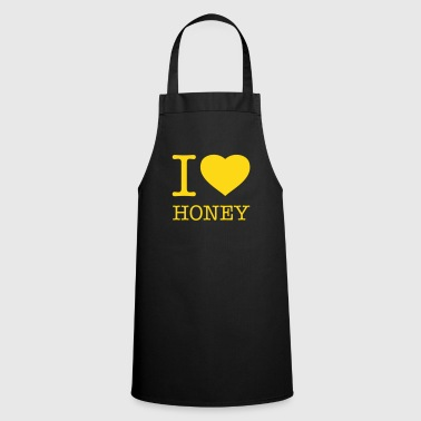 Imker I LOVE HONEY - Kochschürze