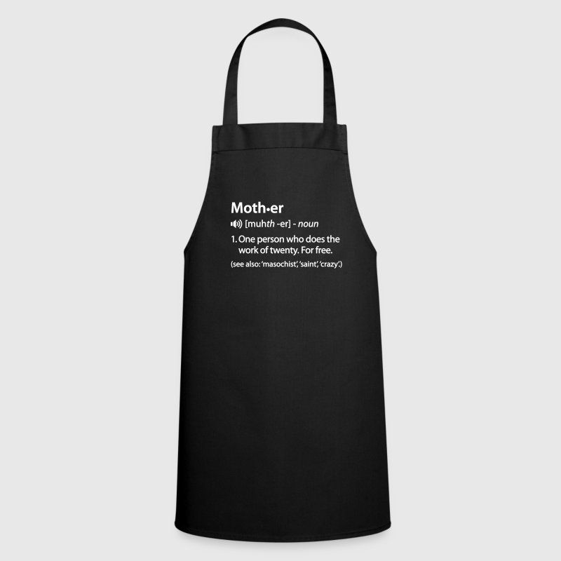 Mother dictionary definition - Cooking Apron