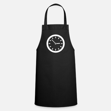 Clock Clock - Cooking Apron