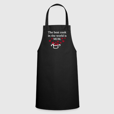 Chef female chef best cook mum - Cooking Apron