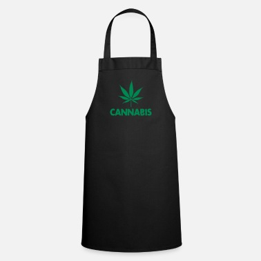 Leaf cannabis leaf - Tablier de cuisine