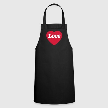 Heart with Love - Cooking Apron