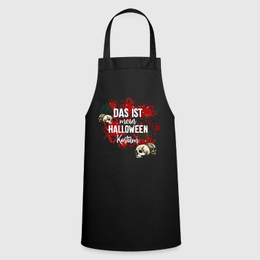 Theme This is my Halloween costume party theme - Cooking Apron