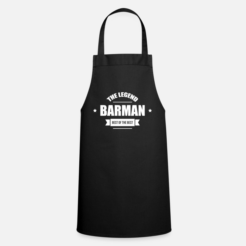 Alcohol Aprons - Barman - Apron black