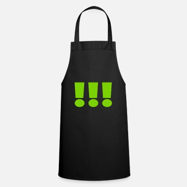 Laughter 3 exclamation marks - Apron