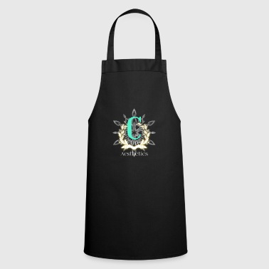 Chic Flowers modern trend - Cooking Apron