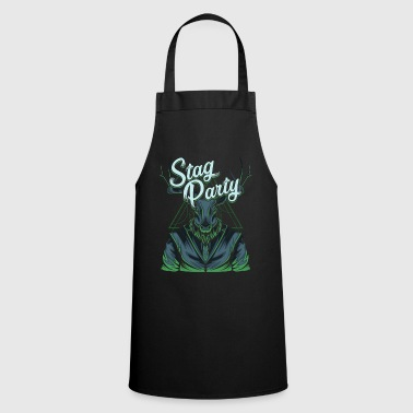 Stag Party Stag Party Bachelor Party Modern - Cooking Apron