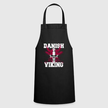 Scandinavie Danemark viking scandinavia cadeau glace du nord - Tablier de cuisine
