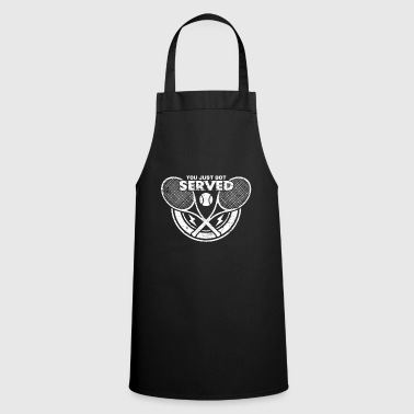 Tennis tennis racket tennis player tennis ball - Cooking Apron