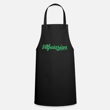 Vegetarian Vegetarian vegetarian gift animal welfare animal - Cooking Apron
