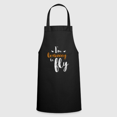 Learning I'm Learning To Fly Learn Flying - Cooking Apron